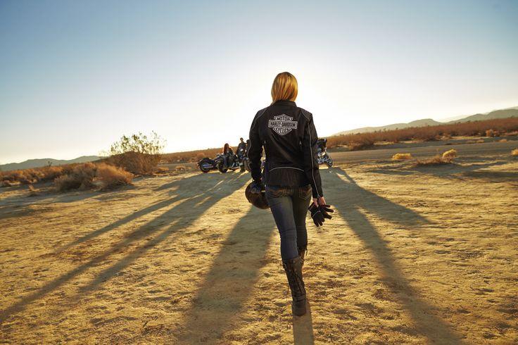 The baddest deserve the best. | Harley-Davidson Women's Triple Vent System Waterproof Textile Riding Jacket