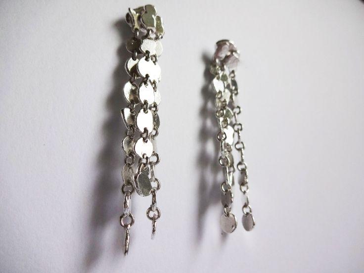 #handmade #earrings #in #silver #elegance #jewelry #fine #jewelry www.facebook.com/gioiellifenzl