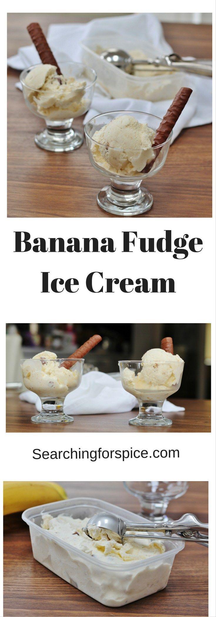 Banana Fudge Ice Cream!!!