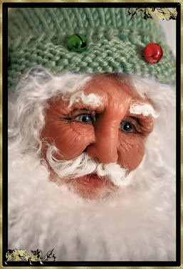 Fairy Tale Santa - OOAK Santa Doll by Jill Zaperach. $499.00, via Etsy.