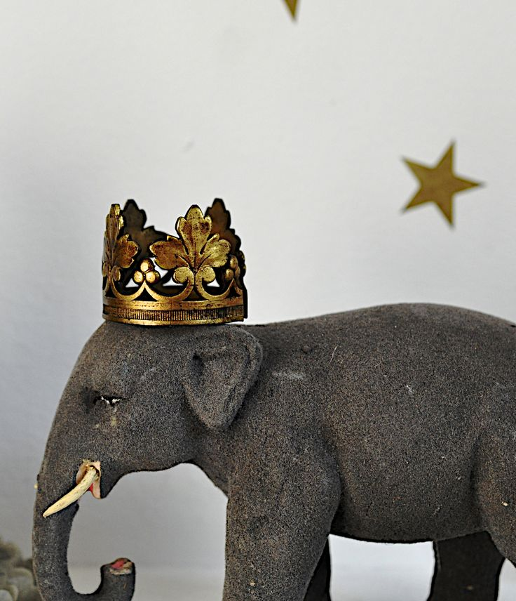 mon éléphant couronné.