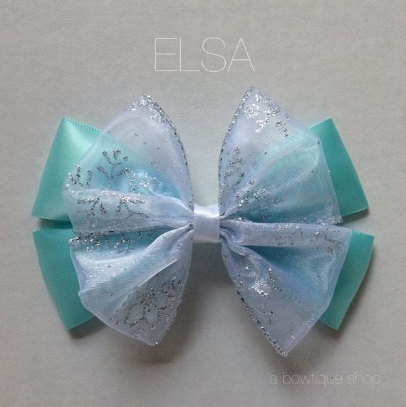 Elsa hair bow                                                                                                                                                                                 Más
