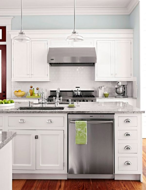 30 Minimalist White Kitchen Design Ideas