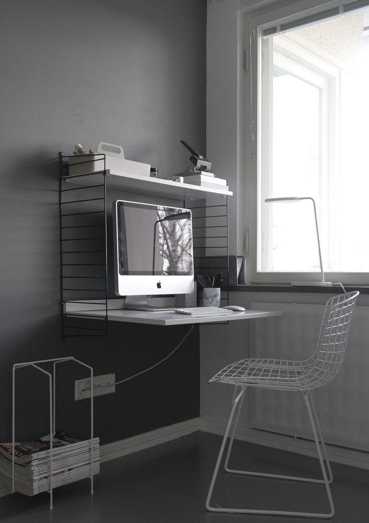 Die besten 25+ Graue heimarbeitsplätze Ideen auf Pinterest - esszimmer mobel vertraute atmosphare stuhle