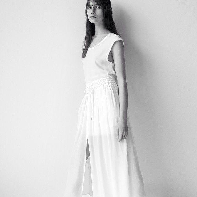 Wilhelmina Models: Sofia Tesmenitskaya for Helmut Lang Spring/Summer 2015 - See more at: wilhelminanews.com