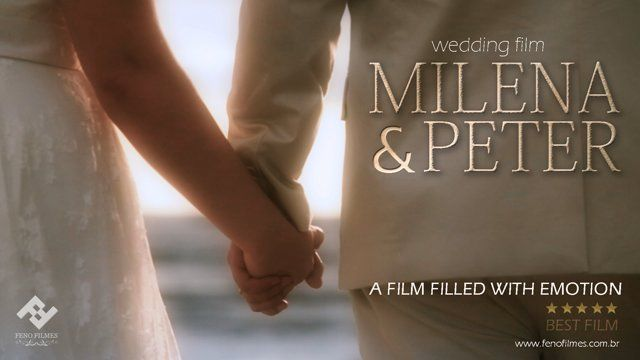 Milena + Peter  GRACE KELLY wedding dress from A MODISTA atelier   FILM Vinicius Feno fenofilmes.com.br WEDDING VENUE: Coconut's Maresias Hotel PHOTO: Wagner Dias DECORATION AND CONSULTING: Vanda Asfour Maquiagem: Patricia Makeup Banda: Barbatrio