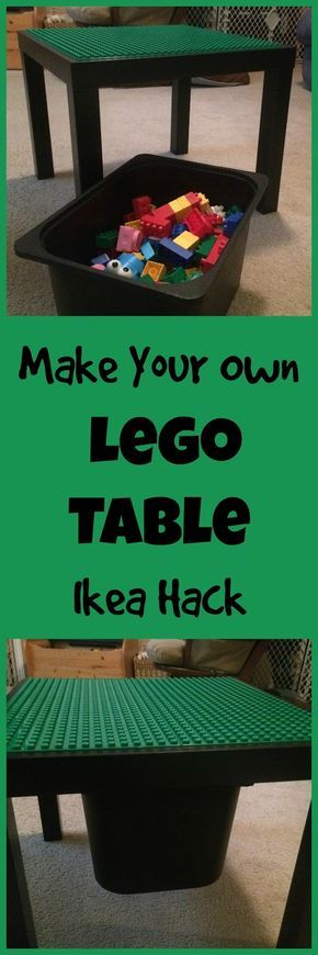 The 25 best ideas about lego table ikea on pinterest for Ikea lack lego table