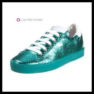 Türkis #Sneaker von L´ autre Chose