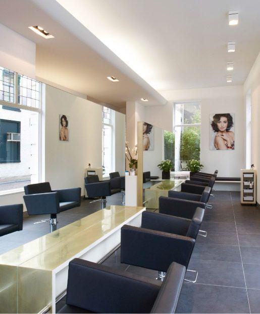 Salon interior   made by interior maker Nieuwkoop International   architect Ruud van Oosterhout