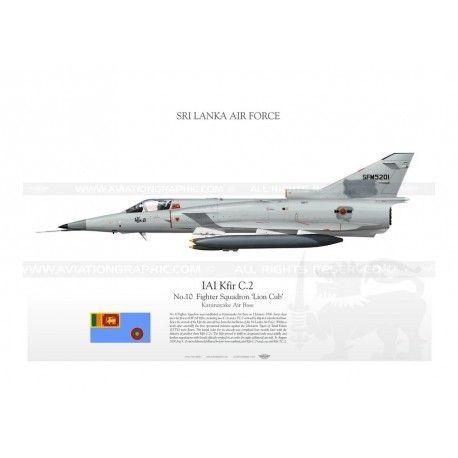 IAI Kfir C.2 Sri Lanka TC-137
