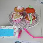 2nd in junior category - by Jemima Hodson  Babypuddleduck's Cinderella themed cupcakes entry into Lichfield food festival bake off competition 2014