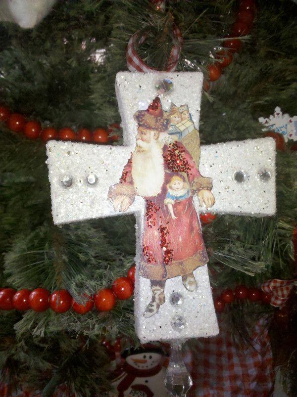 Beautiful Santa Ornament