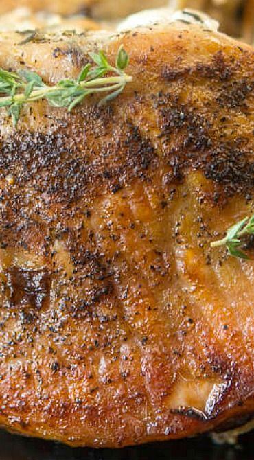 Slow cooker recipe stuffed pork chops