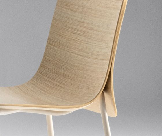 Cape' chair by Nendo for Offecct