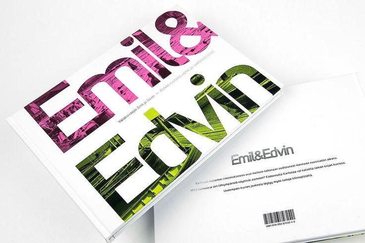Emil&Edvin – book design. Intro Design.