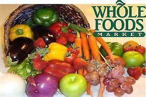 Whole Foods Market   $5 Off $20+ Fruits & Vegetables W/ App Download