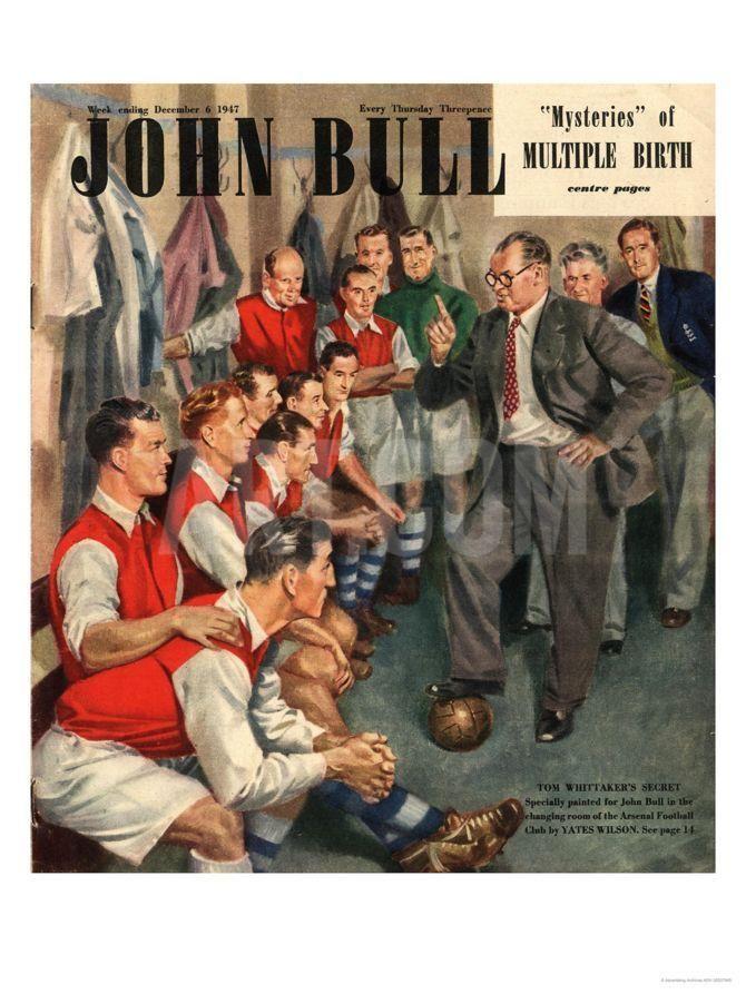 John Bull, Arsenal Football Team Changing Rooms Magazine, UK, 1947 Giclee Print at Art.com