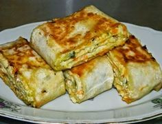 Вкусная еда - кулинарные рецепты на каждый день!: Хрустящая закуска из лаваша