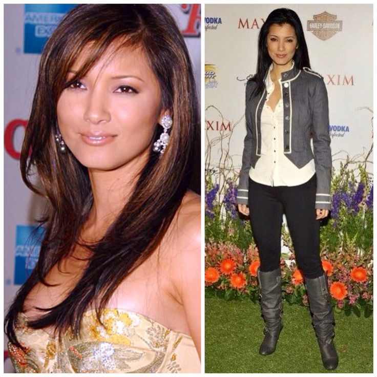 Who is Kelly Hu, and what are some stunning photos of her