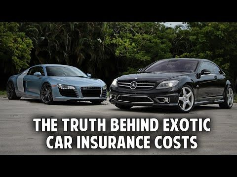 The truth behind the costs of exotic car insurance - WATCH VIDEO HERE -> http://bestcar.solutions/the-truth-behind-the-costs-of-exotic-car-insurance     Visit the complete car buying guide.   Video credits to Secret Entourage YouTube channel