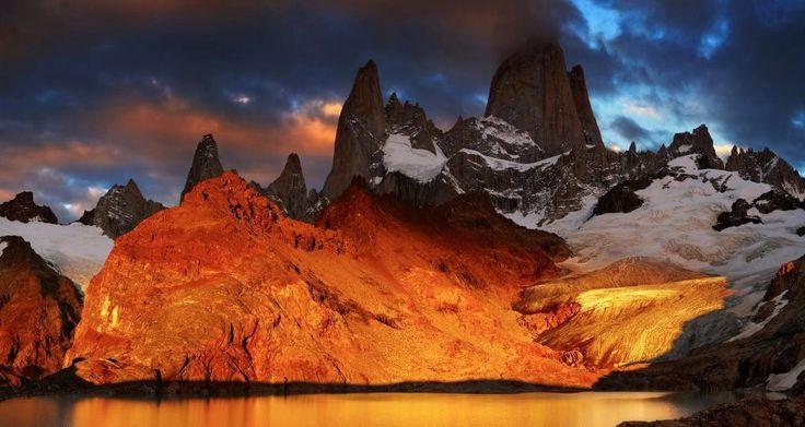 <3 Mount FTZ ROY, USHUAYA-PATAGONIA, ARGENTINA!