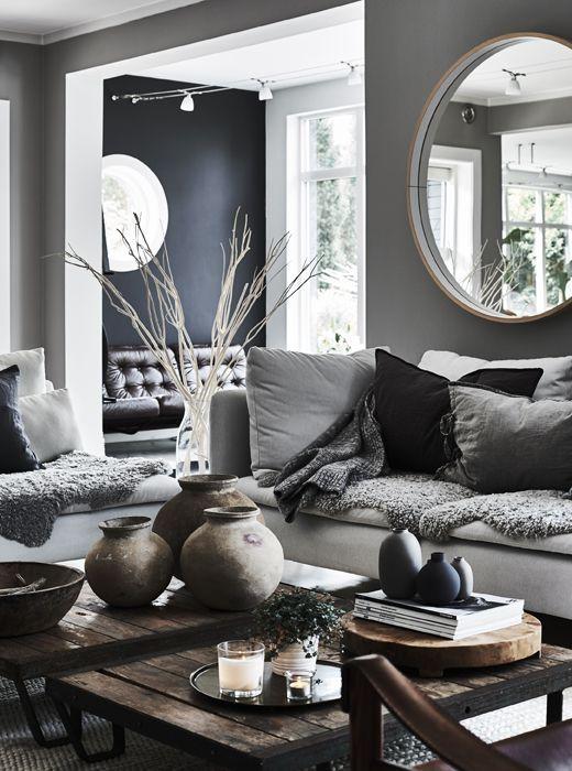IKEA Deutschland | Ein Wohnzimmer In Neutralen Farben, U. A. Mit SÖDERHAMN  3er Sofa Finnsta Weiß #tipps #scandi