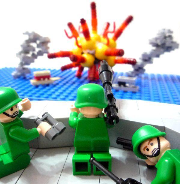 LEGO Army Man Minifigs