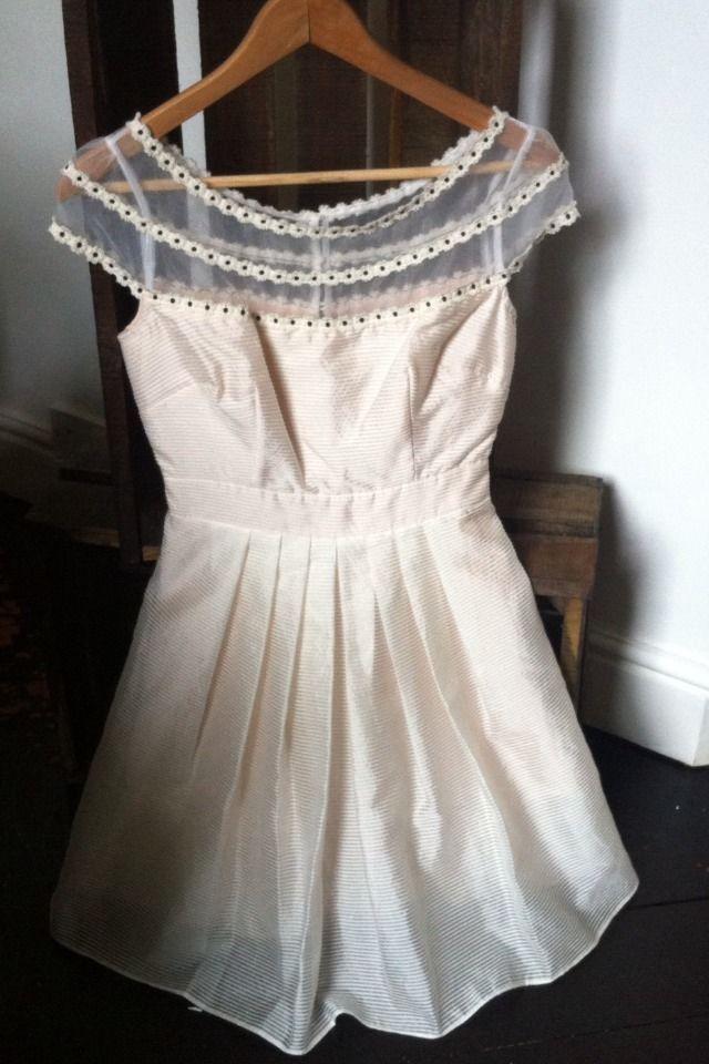 Organza Cream dress - Poem by Oliver Bonas