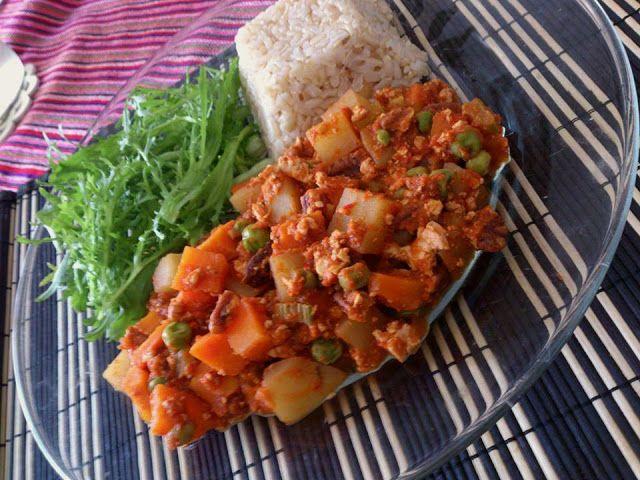 Chantall Vegetal : Picadillo de tofu & nuez pecana (vegano)