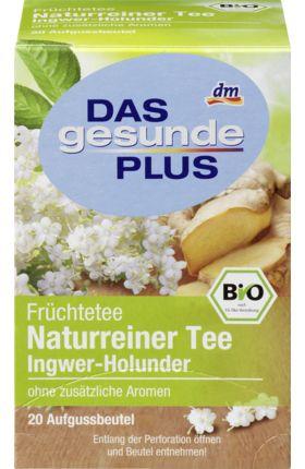 Ingwer-Holunder Früchtetee, 20 x 2,5 g