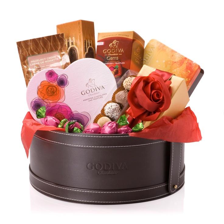 Godiva luxury hamper...of chocolate???? Now that's my idea of heaven!