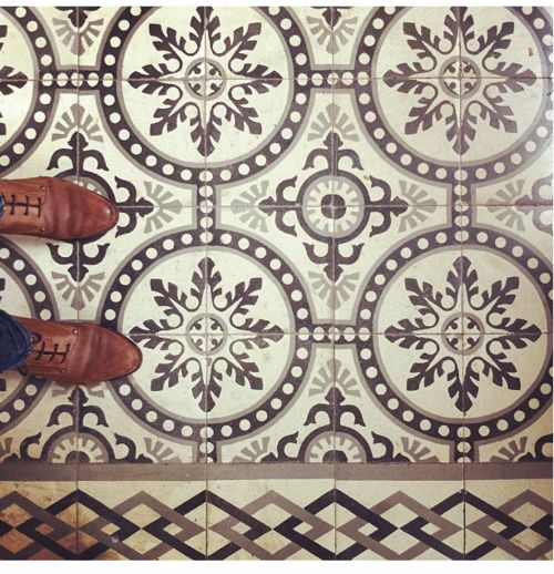 Tile, again. If only carpet wasn't do cheap. Or I guess I could move to Morocco. Haha, just kidding. I would not do that.