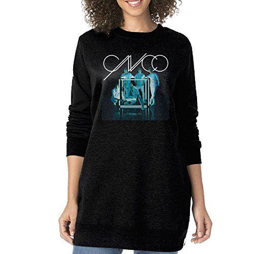Women Cnco Primera Cita Album Cover Oneck Long Sweatshirt * See this great product.