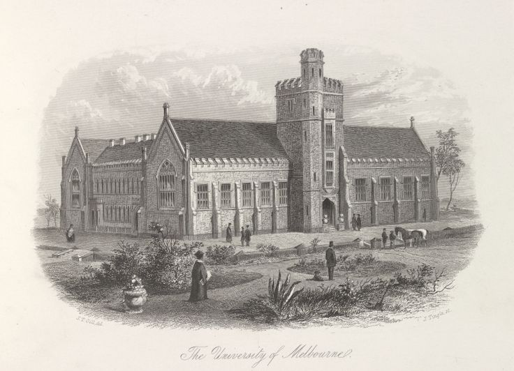 The University of Melbourne, 1856