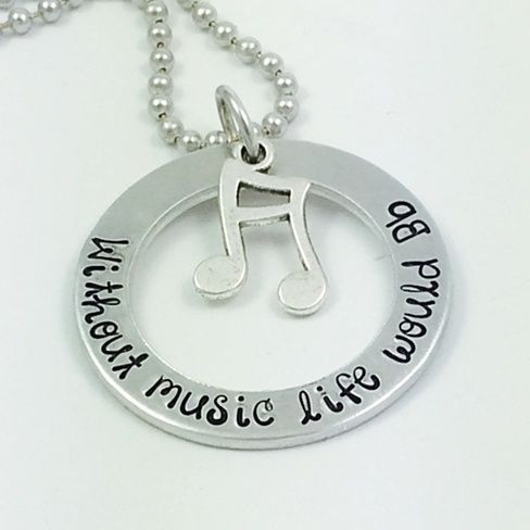 """Without music life would B flat"" is the perfect gift for the music lover in your life."