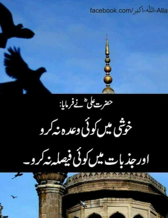 Pin by Soomal zulfiqar on urdu | Imam ali quotes, Islamic