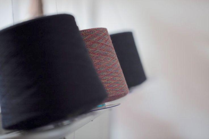 Spinning Loom Cones | | McKernan Woollen Mills | Handmade in Ireland | Irish Design | Weaving | Knitting | Pattern | Textiles | Co. Clare