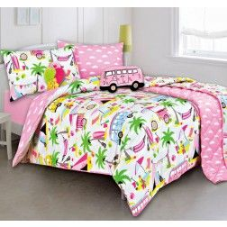 Beach Holiday Quilt Cover Set by Kooky