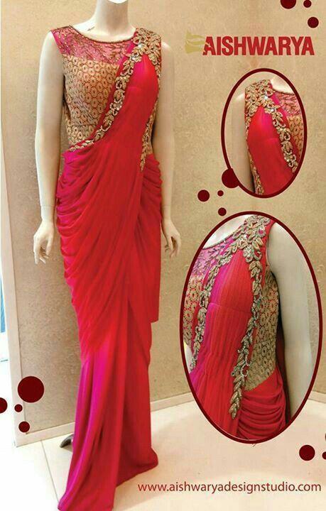 #red#saree