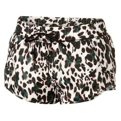 The striking leopard print on the Leopard Run Shorts from The Upside is motivation enough to get to the gym or studio. With a secure, comfortable fit and fast drying materials to go with the safari chic design, these shorts will earn you compliments at every break during your next gym class from Rebel