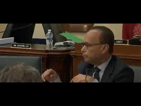 House Dem Luis Gutierrez Eats Skittles During IRS Hearing to Talk About Refugees