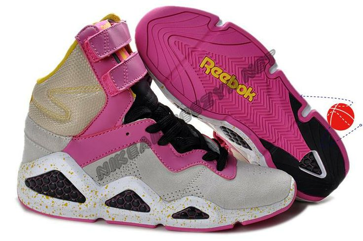 Cheap Buy Reebok CL Chi-Kaze Basquiat Grey Pink Black Womens shoes Halloween Discounts