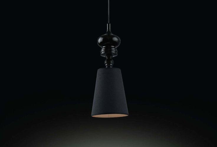 Josephine T Pendant Light by Jaime Hayon for Metalarte in Black Replica