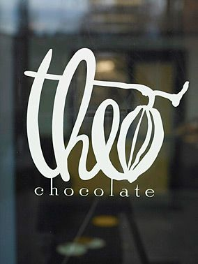 theo chocolate...organic, fair-trade chocolate made in seattle....the real stuff after which you'll never look back