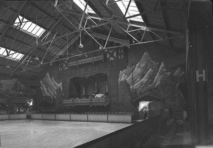 Interior of the Glaciarium Ice Rink, Sydney, May 1940 / photographer Sam Hood