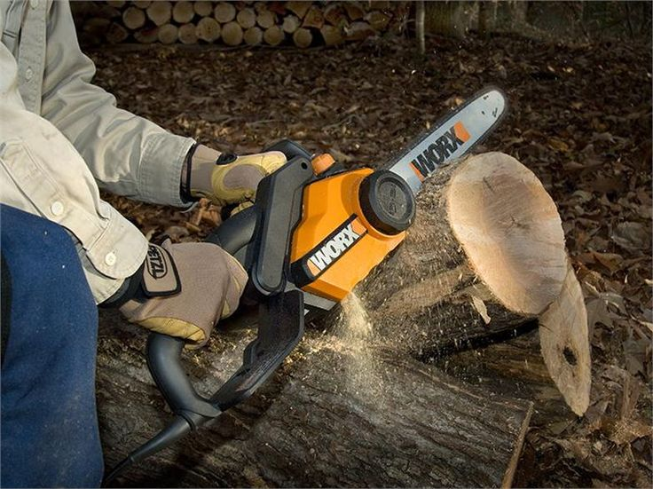 WORX 15.0 Amp WORX 18-inch Electric Chainsaw WG304.1