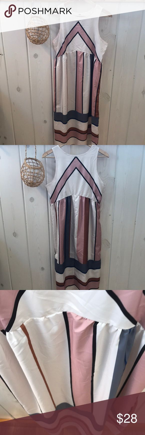 """Free People Bloom Dress Lookalike This dress has no brand or size but has a similar design to the Free People Bloom Dress that is impossible to find! It measures 18.25"""" pit-to-pit and 46.25"""" shoulder to bottom hem.  Has a flattering slight arc to waistline.  Would fit a small or medium, but probably not extra small.  Seems like a polyester material- it's flowy light and silky. Dresses Maxi"""