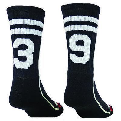 CUSTOM Number Socks Crew Socks - Lacrosse - Football - Pick your Numbers we  will put - 19 Best Custom Socks!! Images On Pinterest