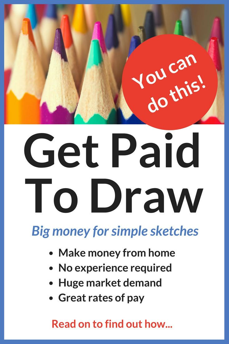 This was a real eye opener for me! I love drawing, but I had no idea you could get paid good money for doing it, even if you don't have any special talents. I found some great resources in this article that I have been following up. As a busy, stay-at-home Mom, I need a good way of creating extra income. Now I know how to turn my drawing skills into cash, and I am sure that is going to make a huge difference to me and my family. Definitely worth clicking through to find out more.