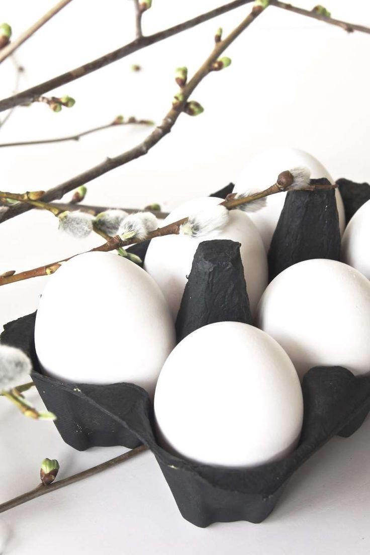 Decorazioni pasquali in bianco - Uova bianche per Pasqua Blank Easter decorations - White eggs for Easter